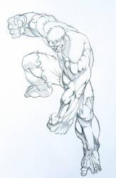 Hulk stuck by GaraKan