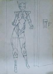 Alita 1, 1996 by GaraKan