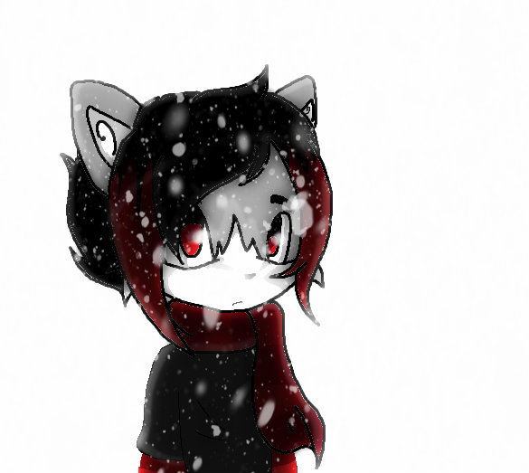 Fursona Snow effect by Linnea-TH