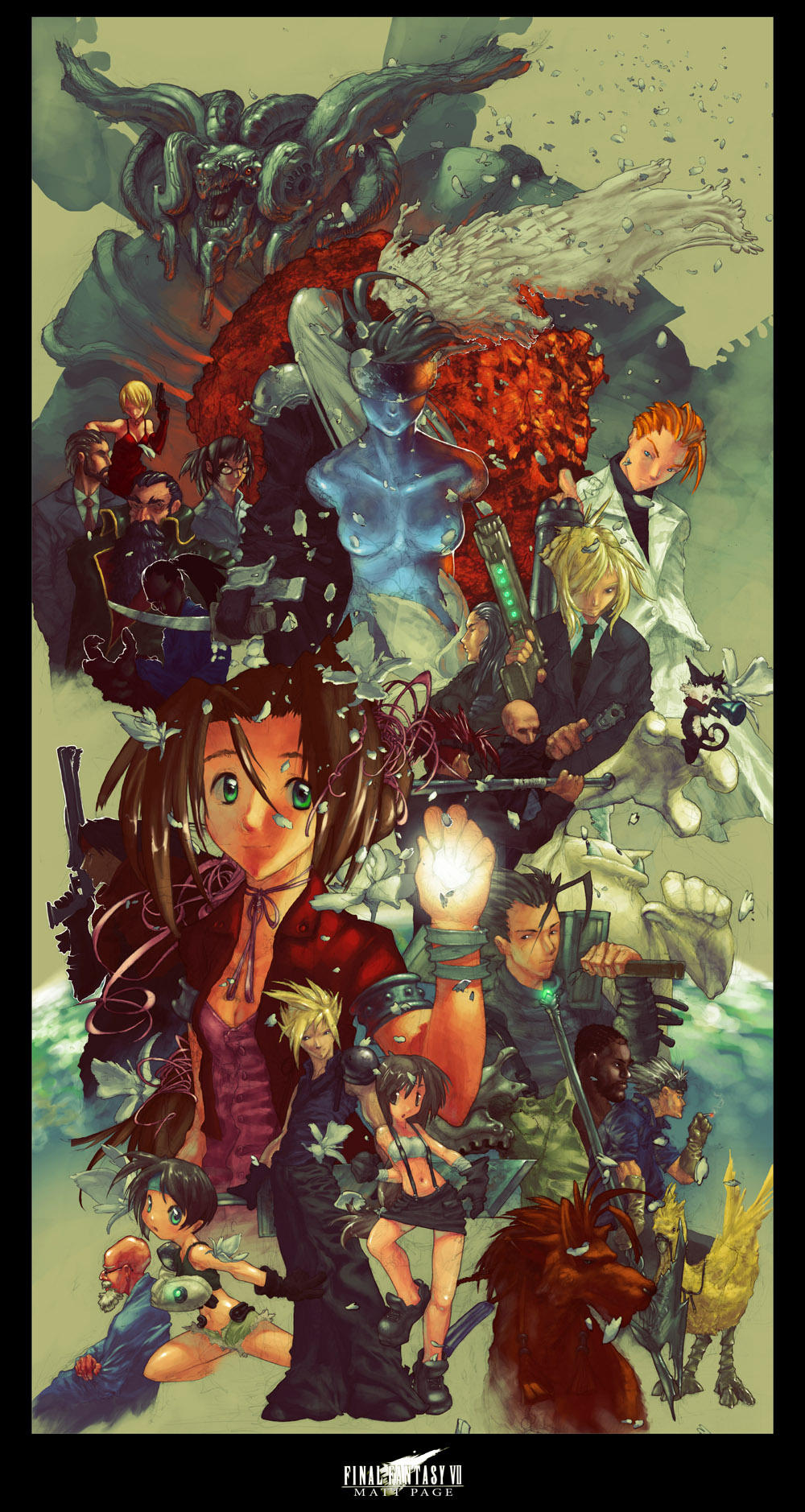 Final Fantasy VII ULTIMATE by fallout161