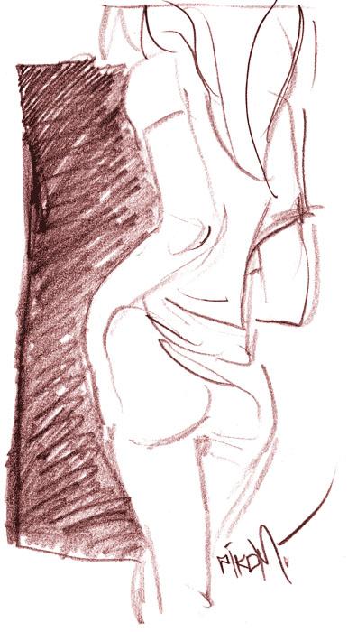 Sexy Sketch by Pikomi
