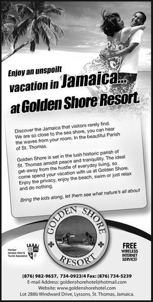 Golden shore 2x20cm press ad