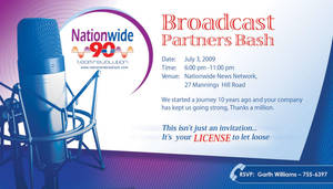 Nationwide invitation