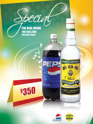 Wray Nephew and Pepsi poster2 by owdesigns