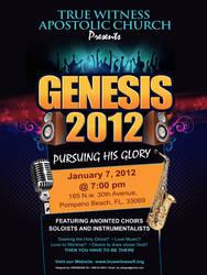 Genesis 2012 flyer by owdesigns
