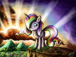 Rainbow Unicorn by IoannTulynkin