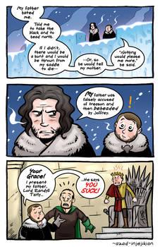 Samwell and Jon Snow - ASoIaF / Game of Thrones
