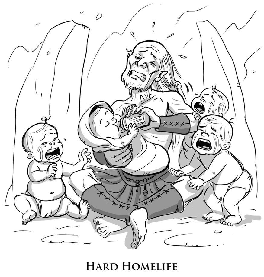 Hard Homelife by Azad-Injejikian