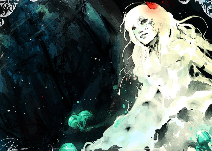 Magic Mushrooms by EphemeralComic