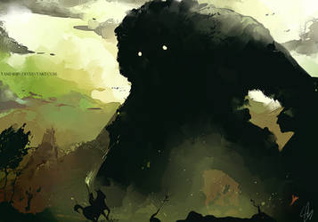 Shadow of the Colossus - epic by EphemeralComic