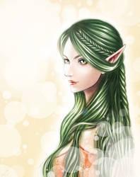 High elf maiden