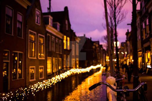 Landscape/ Night/ Amsterdam