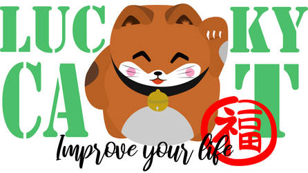 Lucky Cat, improve your life