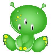 Green Zalien by Fagoon