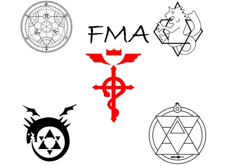 Fma Symbols By Tydeerose On Deviantart