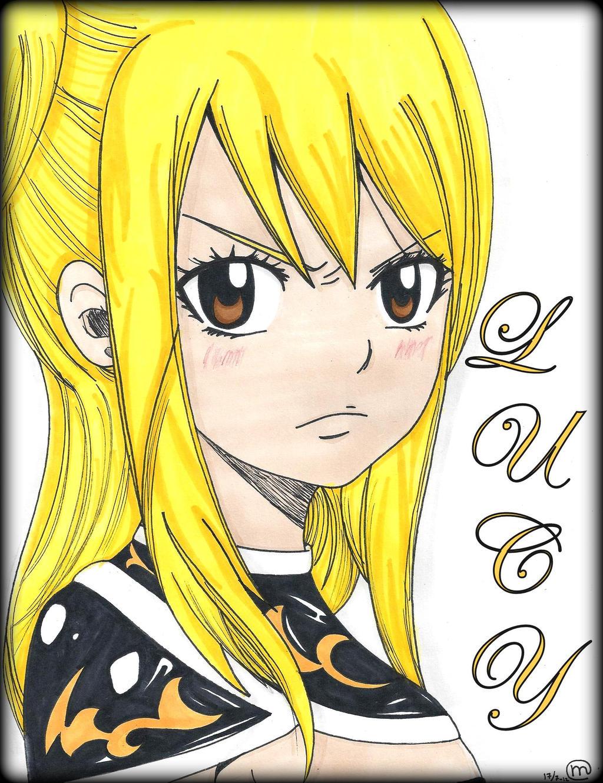 FairyTail x791: Lucy Heartfilia by Oskar-Draws on DeviantArt