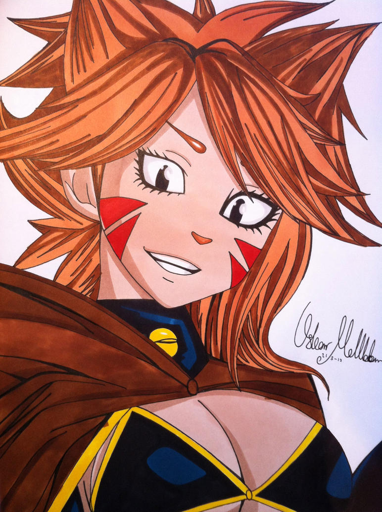 Fairy Tail: Miliana by Oskar-Draws