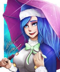 Juvia - Fairy Tail by Oskar-Draws