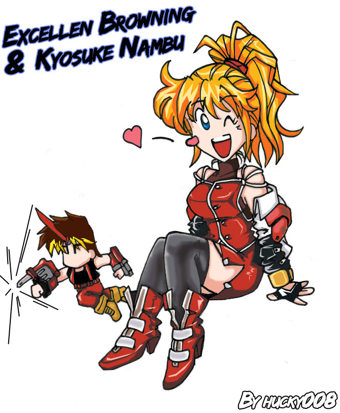 Excellen and Kyosuke by hucky008