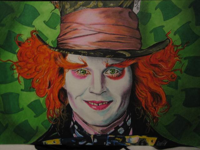 Johnny Depp Mad Hatter by *Korpedo on deviantART