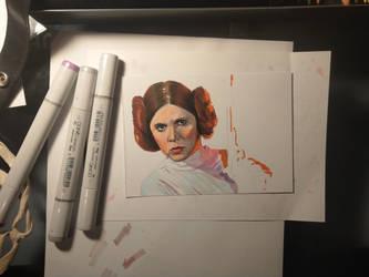 Princess Leia by Korpedo