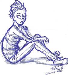 I found a sketch by bandgeek4evur