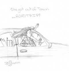 She Got Outta Town by bandgeek4evur
