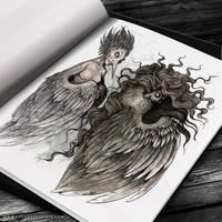 Gwrach y Rhibyn by FlyingViperArt