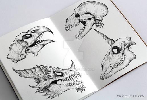 Mythical Skulls