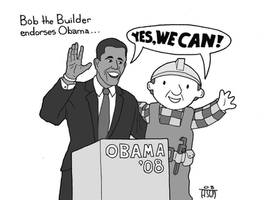 Obama the Builder by sayer