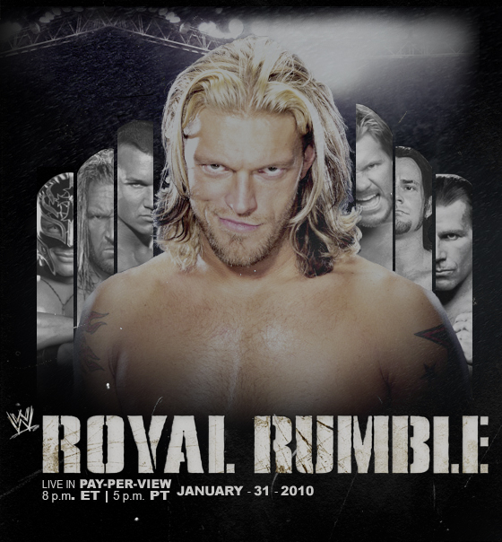Royal Rumble 2010 by ratedition