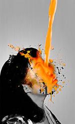 Orange Flow by SillehKnilleh8D