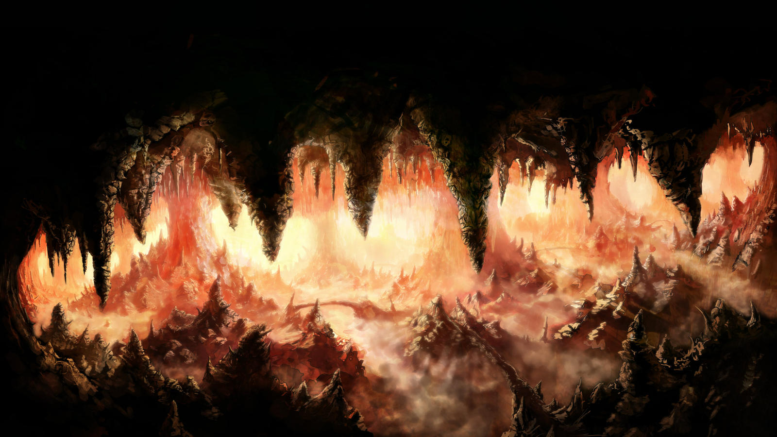 Hell Cave by NatMonney