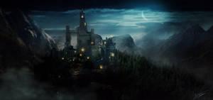 A night Castle...