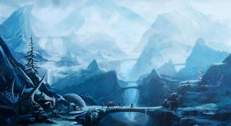 A Cold Journey by NatMonney