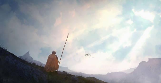 Facing a dragon's area