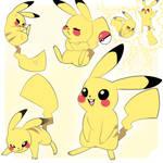 Pikachu Poses
