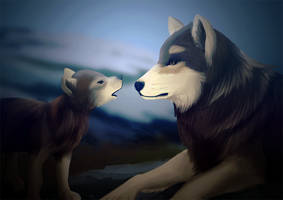 Wolves by Laxan-Enore