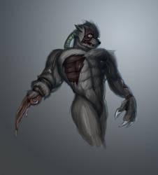 Mutant Zombie Werewolf