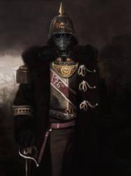176th Siege Regiment CO - Death Korps of Krieg