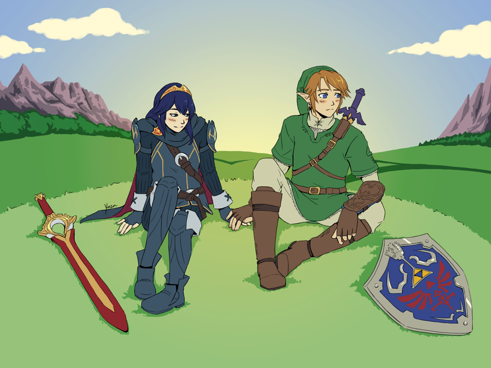 Commission link x lucina by yinza on deviantart