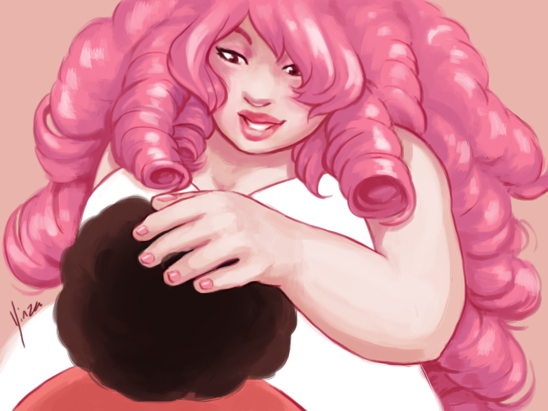 Steven universe rose quartz by yinza on deviantart - Rose quartz steven universe wallpaper ...