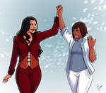 Korrasami - Just Married (in Suits)