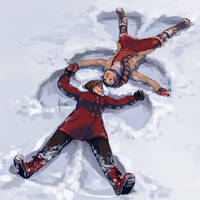 Aerti - Snow Angels by yinza