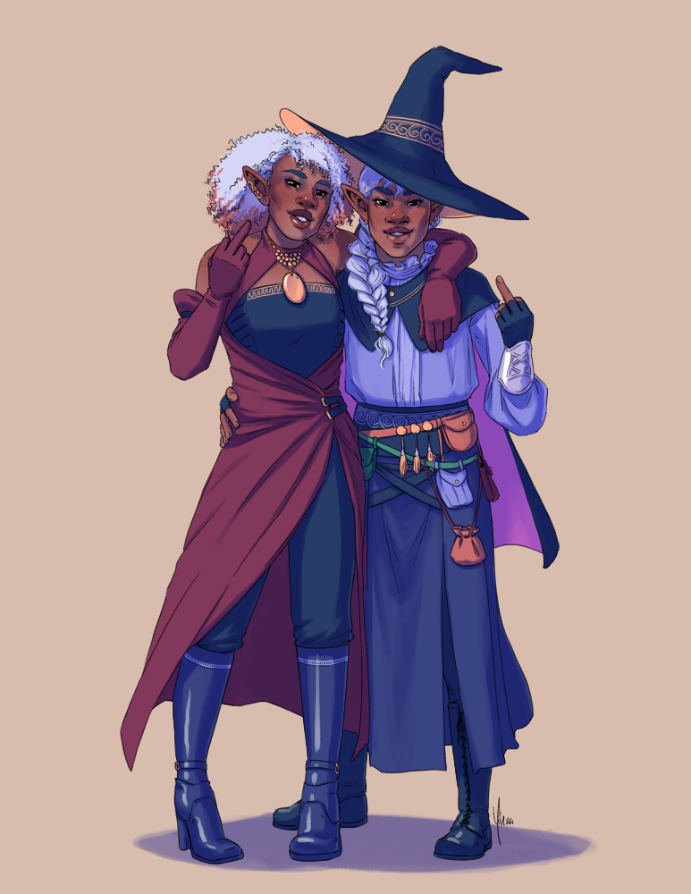Taako and Lup