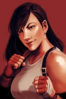 Patreon Reward - Tifa Lockhart by yinza