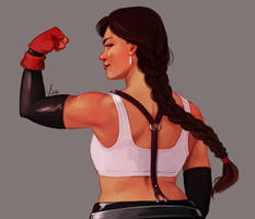 Tifa Week - Flex by yinza
