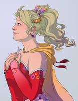 Commission - Terra Branford by yinza