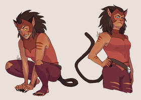 Catra Sketches by yinza