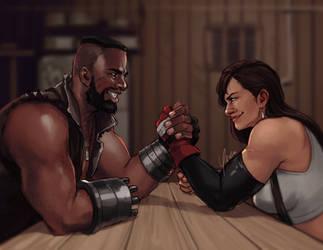 Arm Wrestling by yinza